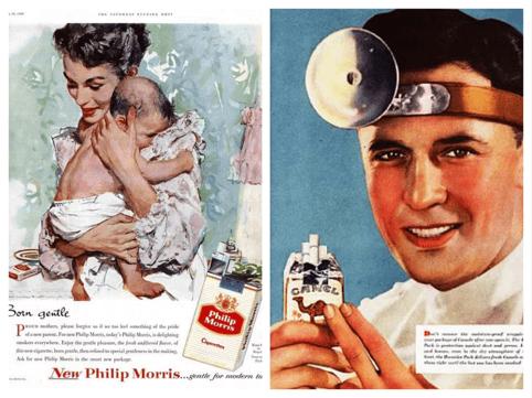 fumo e infertilità pubblicità